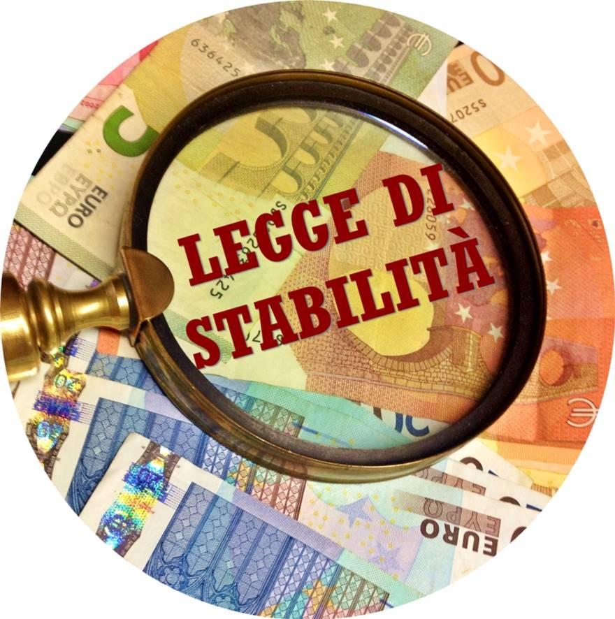 Legge di stabilità 2017 : contributi a Enti non a scopo di lucro per l'acquisto di beni strumentali per finalità solidaristiche