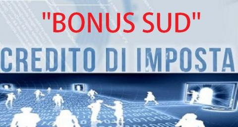 BONUS SUD: LE NOVITA' INTRODOTTE CON IL DECRETO N.243 DEL 2016
